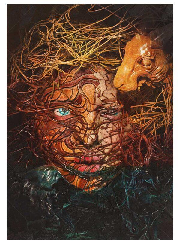Buy Alice A4 Print by John Chen