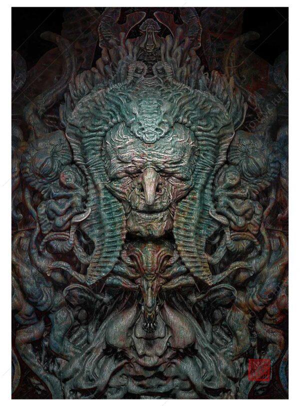 Gaia - Collaboration with Artist Scott Sharrod
