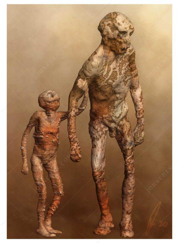 the kid, fine art print