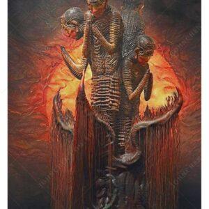 Namaste dark art fine art print