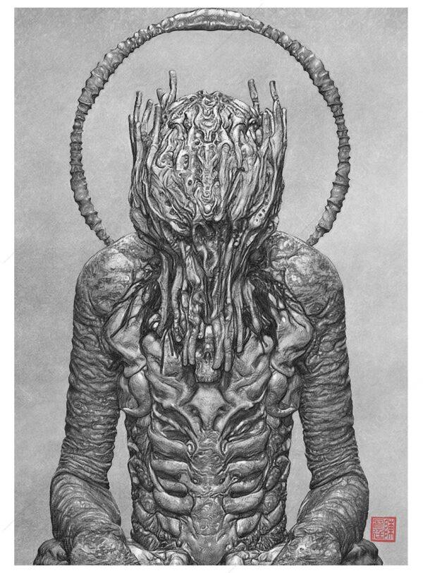 prayman darkart art print