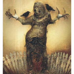 scarecrow darkart print