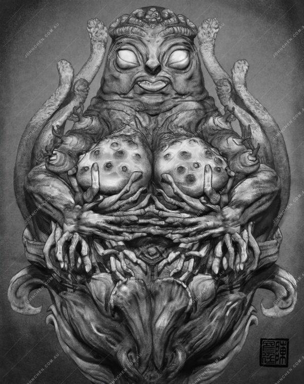 goddess fertility art print