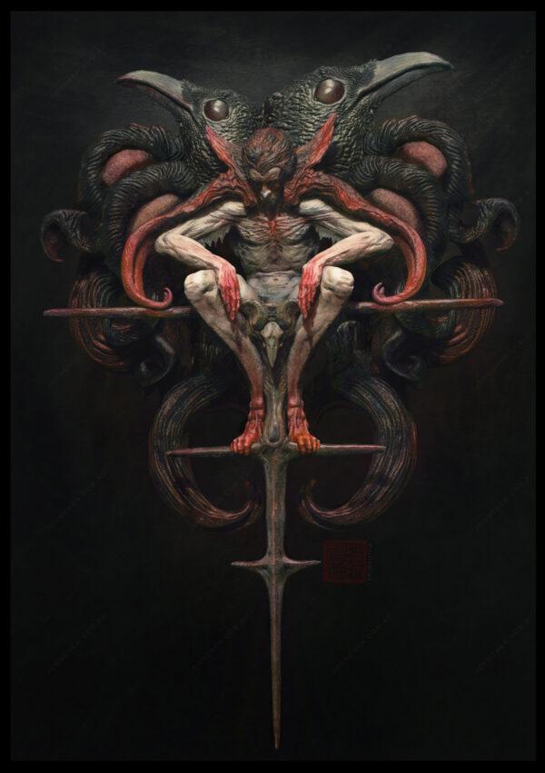 Prince Andric the Vampire hunter by artist John Chen